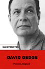 David Gedge - Sleevenotes series